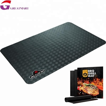 Pvc Protective Bbq Barbecue Grill Pation Floor Mat Buy