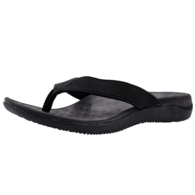 45f446f5c8f91d V.Step Women Orthotic Flip Flops Arch Support Sandals Flat Thong Slippers-  Walking Comfort