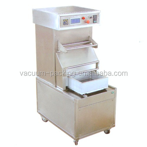 HZ-3035 Automatic tray sealing machine MAP tray sealer