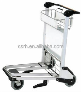 Supplier of RH-J06 Passenger Airport Luggage Trolley Baggage Trolley