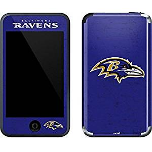 NFL Baltimore Ravens iPod Touch (1st Gen) Skin - Baltimore Ravens Distressed Vinyl Decal Skin For Your iPod Touch (1st Gen)