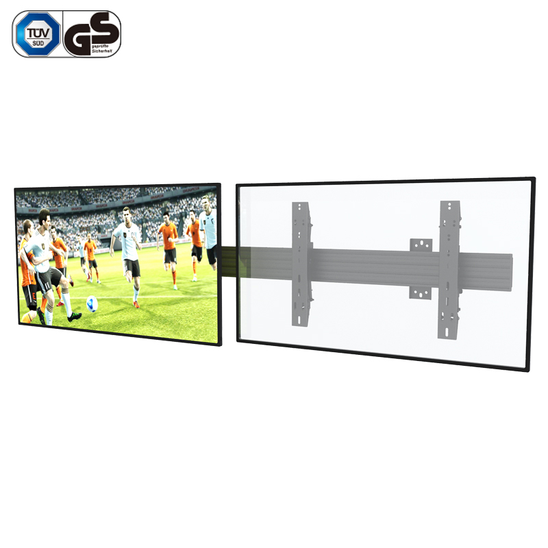High Quality Removable LCD Sliding Wall Mount TV Shelf For Tilt Arms