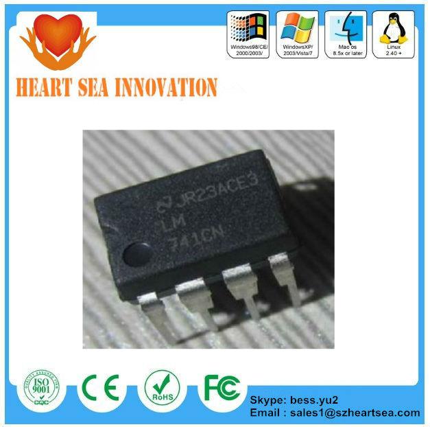 Electronic Ic Chips Ic 741/ Ln 741cn Ns/ua741cn Dip-8