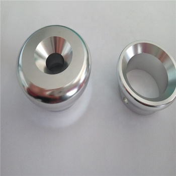 Home exercise pipe end protection caps, metal end cap for fitness equipment