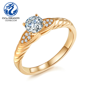 OEM Wedding Ring 1 Gram Gold Rings Design For Women With Price