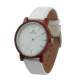 Brand Designer Men and Women Hand Made Wood Watch with Leather Band