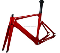 700*25C OEM Max Tyre Fixed Gear QR carbon Track bike Frame/Rahmen