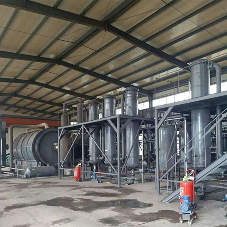 5T 8T 10T Daily Auto-feeding and Discharging <strong>scrap</strong> rubber pyrolysis machine plant/<strong>scrap</strong> rubber pyrolysis equipment Q345R steel