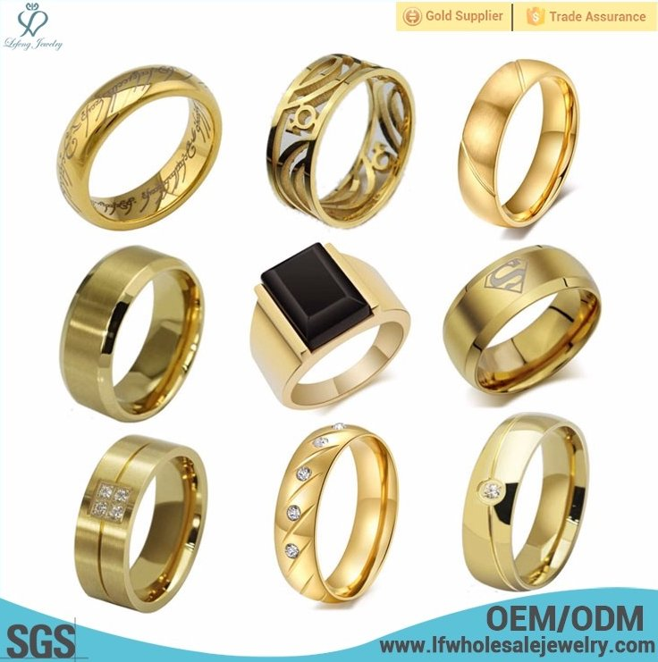 Ally express cheap wholesale 1 gram gold gold ring designs for men