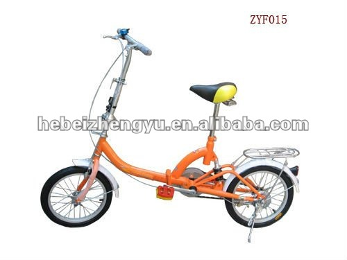 2012 new design foldable bicycle
