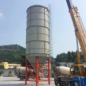 Fly ash cement storage bolted construction silo cost
