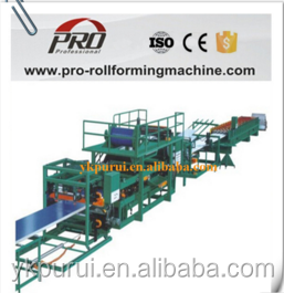 Steel Roofing Sheet EPS Sandwich Panel Making Roll Forming Machine