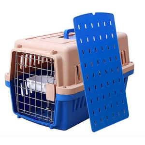 Small corrugated plastic pet air carrier sling for small dogs