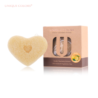 Unique Colors Citrus Fruit Konjac Sponge 100% Konjac Baby Bath Kits body Washing Konjac Sponge