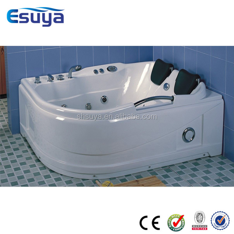 Adult portable bathtub with whirlpool bathtub handles