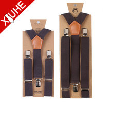 hot sale fashion suspenders for adults and kids,braces for trousers,Y or X shape suspenders with clips