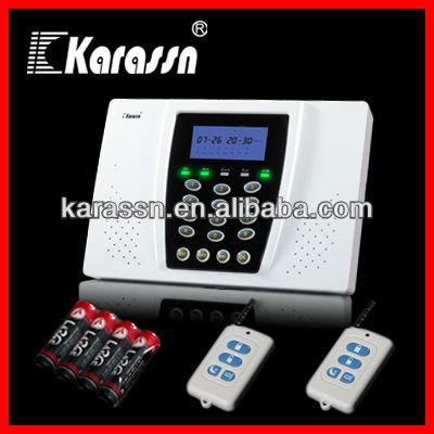 20 zone home security burglar alarm wireless