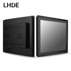 IP65 embedded VGA HDMII industrial capacitive 7 inch monitor touch