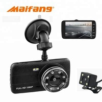 4inch HD 1080P 2 Channel Car Black Box Dvr Car Camera
