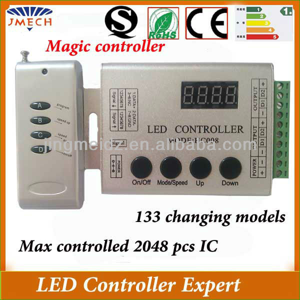 Hc008 Led Controller Rf Magic Lighting Remote Controller