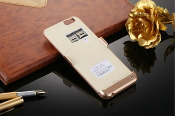 Hot new products 2016 new products universal portable charger customerized design power bank rohs battery case for iphone 6