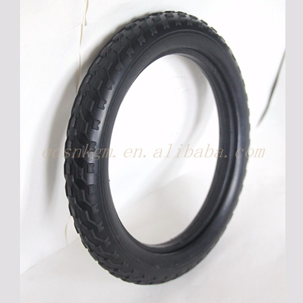6 Inch Solid PU Rubber Tires For Kids Bike Baby Stroller