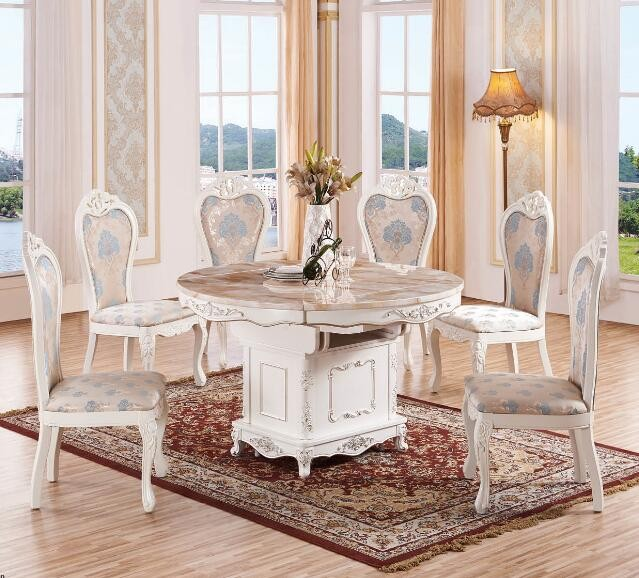 Foshan golden quality dining room furniture wooden for Best quality dining tables