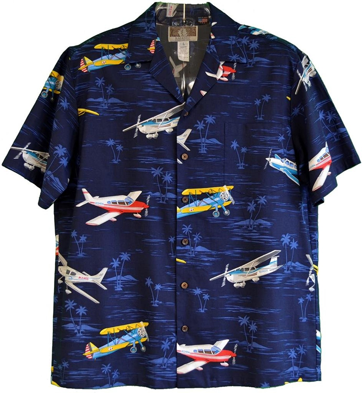19c916b9 Get Quotations · Fighter Plane Hawaiian Shirts - Mens Hawaiian Shirts - Aloha  Shirt - Hawaiian