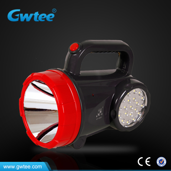 Rechargeable powerful led emergency searchlight