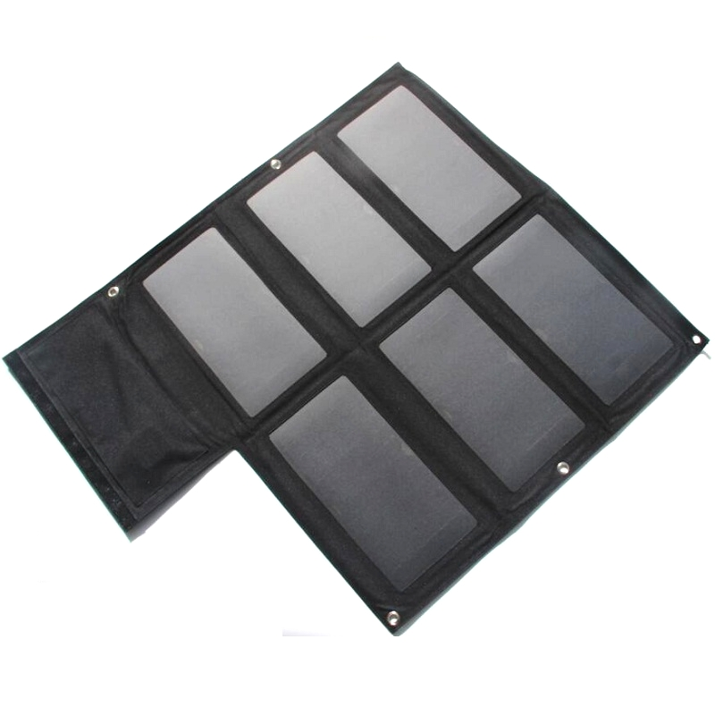 BUHESHUI High Quality 40W Dual USB Output Sunpower Solar Cells Foldable Solar Panel Charger For Mobile Phones/Power Banks