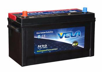 Used Car Batteries For Sale >> 12v 90ah Car Battery N90 105d31r Lead Acid Battery Used Car Batteries For Sale Buy Lead Acid Battery 12v 90ah Car Battery Used Car Batteries For