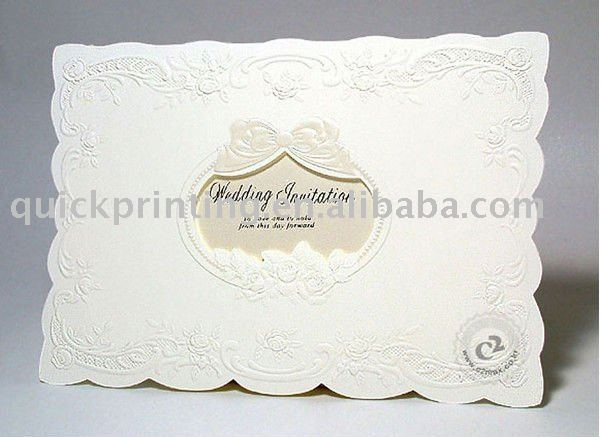3d wedding invitation card with hot stamping - buy 3d wedding, Wedding invitations