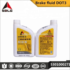 Construction machinery Dot 3 synthetic brake fluid with best price