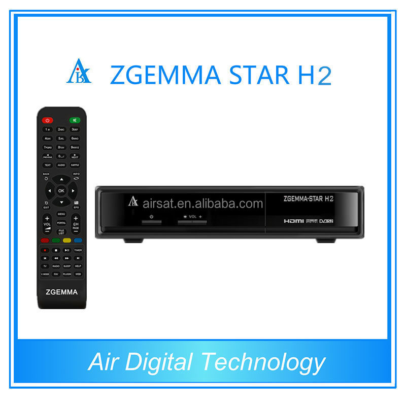 Zgemma - star h2 with original samsung 109A Hybrid tuner to replace cloud ibox 3 se