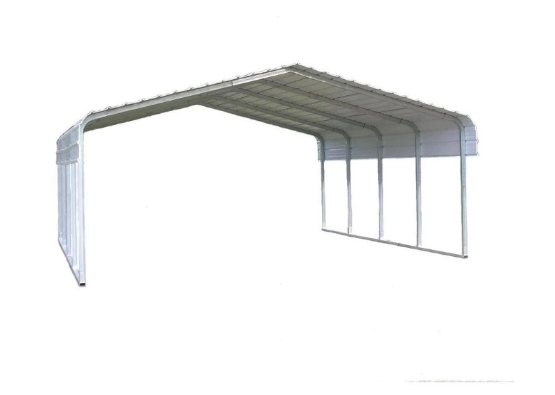 Aluminum Metal Poles Structure  Roofing Car Parking Sun shed Canopy tent Roof Design