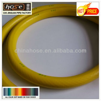 Natural Gas Plastic Pipe Yellow