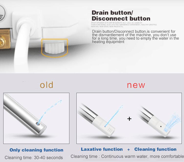 Toilettes intelligentes sanitaires de la chine, toilettes intelligentes de WC, sièges de toilette intelligents en céramique de salle de bains R028