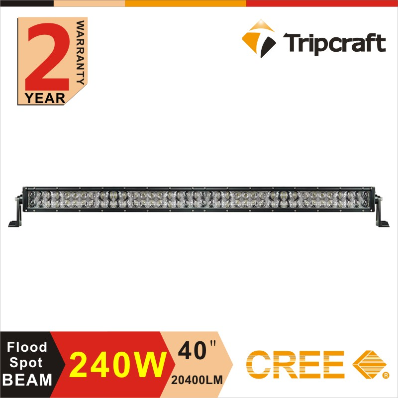 Factory direct 240w 42 inch led light bar new model 4d straight led off road lighting