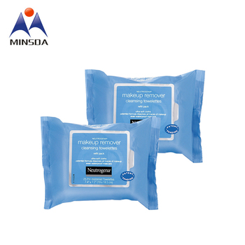 Custom Private Waterproof Makeup Remover Towelettes Labels Facial Wipes Labels Facial Wipes Reusable Adhesive Labels