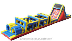 70ft long air jumping castle for adults fun play