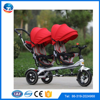 2016 New arrival CE approved twim baby stroller twin stroller 3 in 1 best quality baby stroller for twins