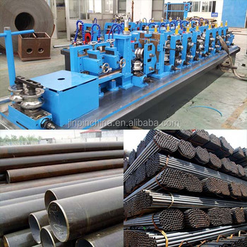 High frequency carbon steel pipe production line & High Frequency Carbon Steel Pipe Production Line - Buy Pipe ...