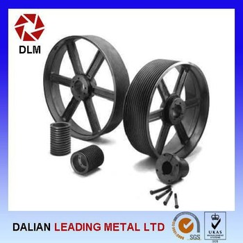 Professional High Quality Cheap Price U Groove Steel Pulley