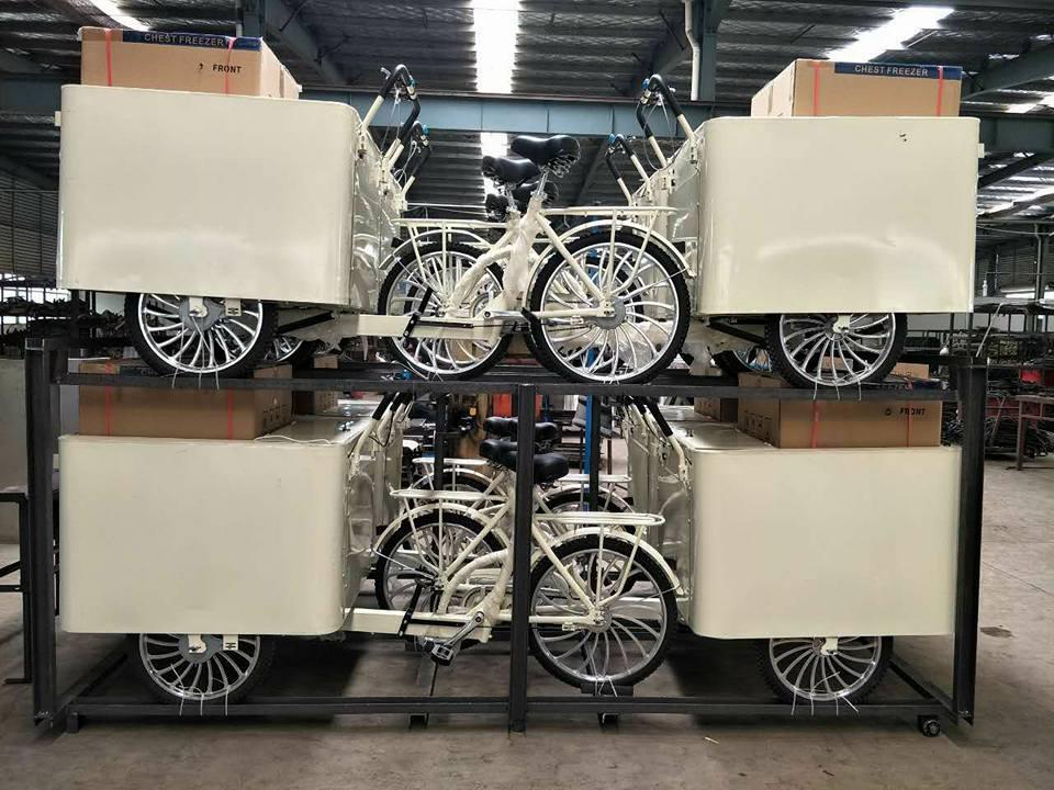 तीन पहिया बर्फ में मछली-क्रीम बाइक/बाइक/गाड़ी/साइकिल