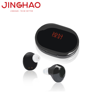 New Product 2019 Wholesales ITE Rechargeable Ear Hearing Aid for deaf hearing