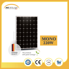 High Quality 24v AE M6-48 Series 220W Mono Solar Panel With Cheap Price