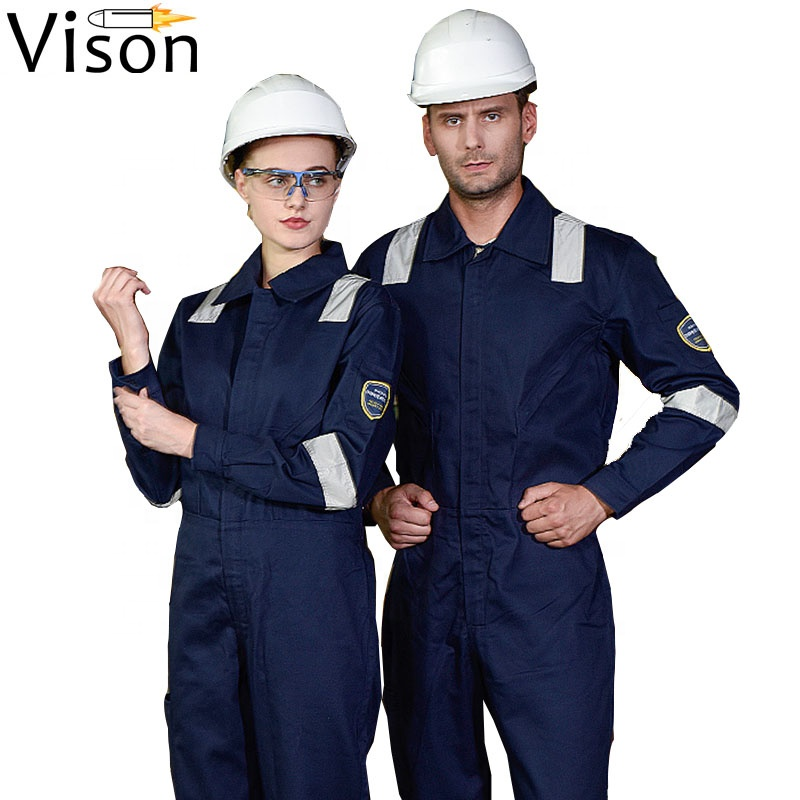 coverall fire retardant high visibility coverall hi vis flame resistant safety overall workwear