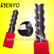 Uncoated Aluminium Alloy conical cutters