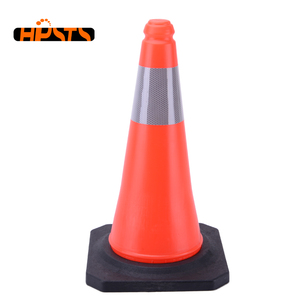 Used security caution professional orange color 75cm pe traffic cone