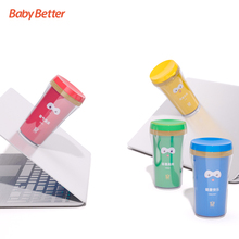 BPA Free Antibacterial PP With Sucker Novelty Kids drink cups kids drinking cups children magic cup